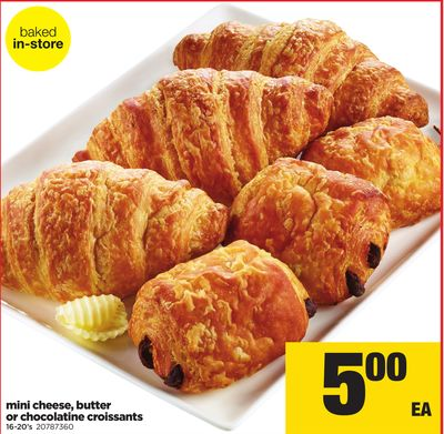 Mini Cheese - Butter Or Chocolatine Croissants - 16-20's
