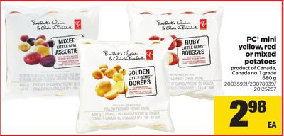 PC Mini Yellow - Red Or Mixed Potatoes - 680 g
