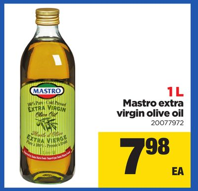 Mastro Extra Virgin Olive Oil - 1 L