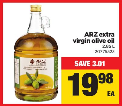 Arz Extra Virgin Olive Oil - 2.85 L