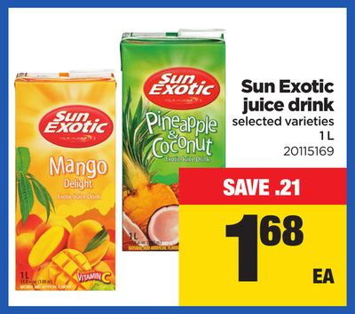 Sun Exotic Juice Drink - 1 L