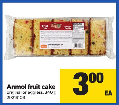 Anmol Fruit Cake - 340 g