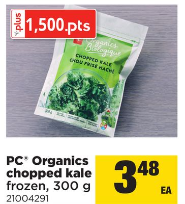 PC Organics Chopped Kale - 300 g