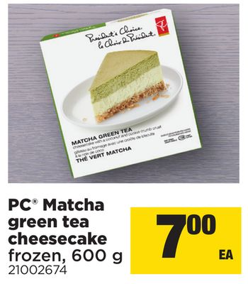 PC Matcha Green Tea Cheesecake - 600 g
