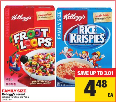 Kellogg's Cereal - 515-755 G