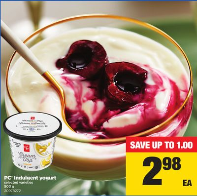 PC Indulgent Yogurt - 500 g