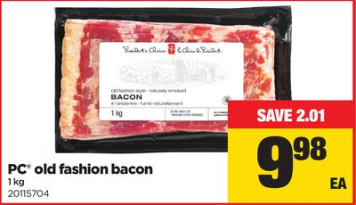 PC Old Fashion Bacon - 1 Kg