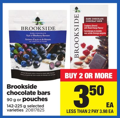 Brookside Chocolate Bars - 90 g or Pouches - 142-225 g