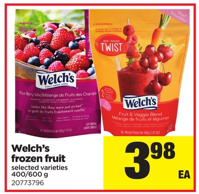 Welch's Frozen Fruit - 400/600 g