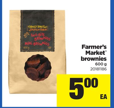 Farmer's Market Brownies - 600 g