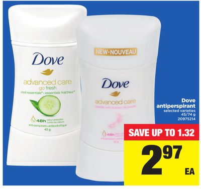 Dove Antiperspirant - 45/74 g