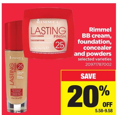 Rimmel Bb Cream - Foundation - Concealer And Powders