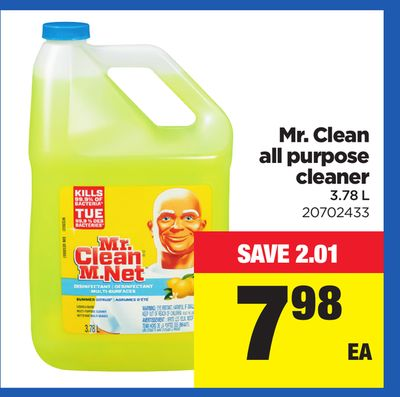 Mr. Clean All Purpose Cleaner - 3.78 L
