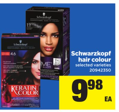 Schwarzkopf Hair Colour