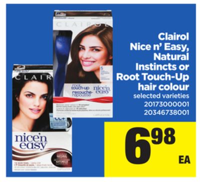 Pack of 2 Clairol Nice 'n Easy Root Touch-Up Kits that matches shades Offer: Free 2-day shipping for all Prime members.