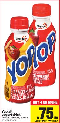 Yoplait Yogurt Drink - 200 mL