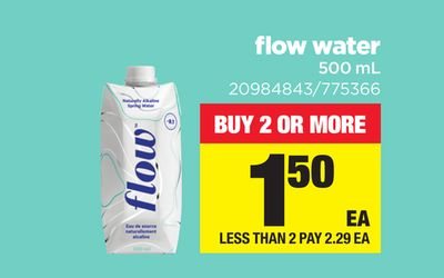 Flow Water 500 Ml