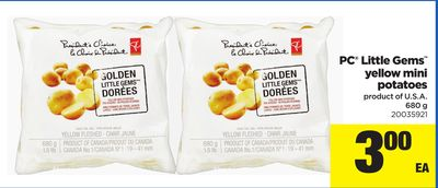 PC Little Gems Yellow Mini Potatoes - 680 g