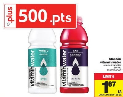 Glaceau Vitamin Water - 591 mL
