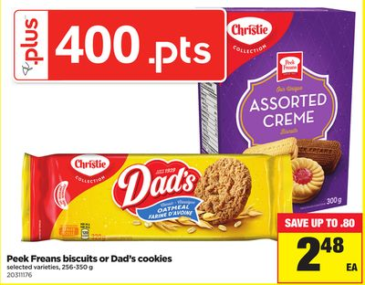 Peek Freans Biscuits Or Dad's Cookies - 256-350 g