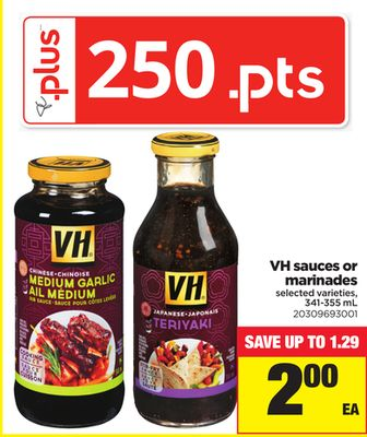 VH Sauces Or Marinades - 341-355 mL