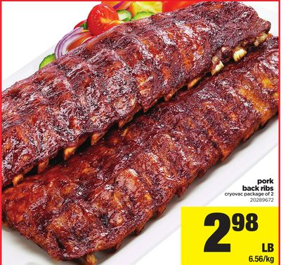 Pork Back Ribs - Package of 2