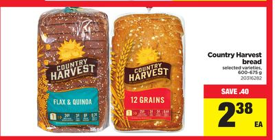 Country Harvest Bread - 600-675 g