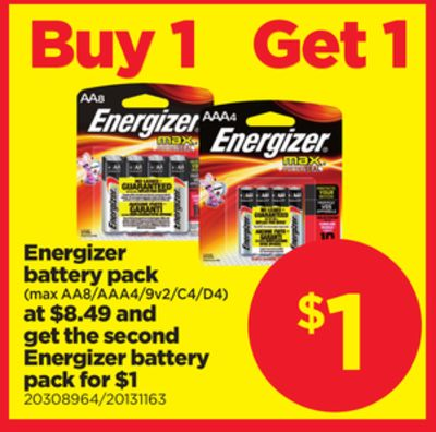 Energizer Battery Pack