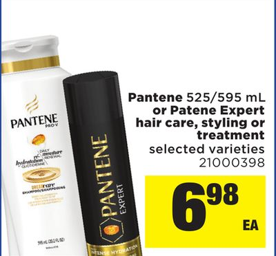 Pantene - 525/595 Ml Or Pantene Expert Hair Care - Styling Or Treatment
