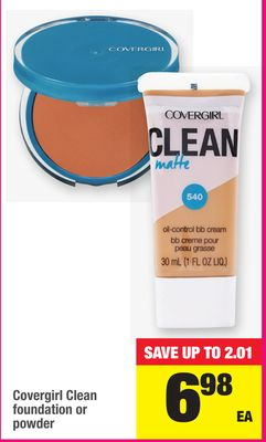Covergirl Clean Foundation Or Powder