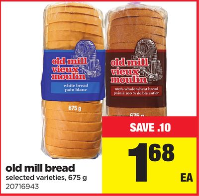 Old Mill Bread - 675 g
