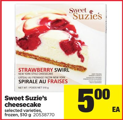 Sweet Suzie's Cheesecake - 510 g