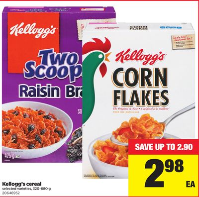 Kellogg's Cereal - 320-680 g