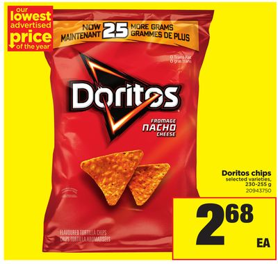 Doritos Chips - 230-255 g