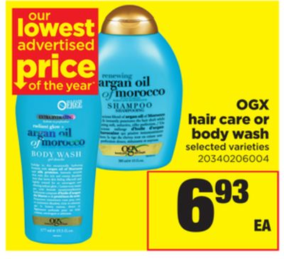 Ogx Hair Care Or Body Wash