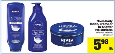 Nivea Body Lotion - Creme Or In-shower Moisturizers