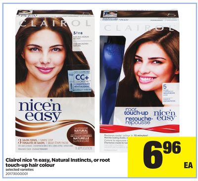Clairol Nice 'N Easy - Natural Instincts - Or Root Touch-up Hair Colour