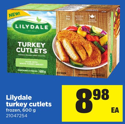 Lilydale Turkey Cutlets - 600 g