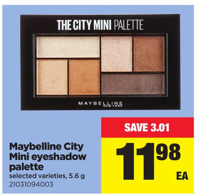 Maybelline City Mini Eyeshadow Palette - 5.6 g