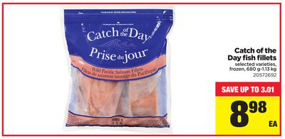 Catch Of The Day Fish Fillets - 680 G-1.13 Kg
