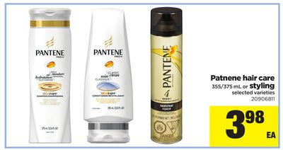 Patnene Hair Care 355/375 Ml Or Styling