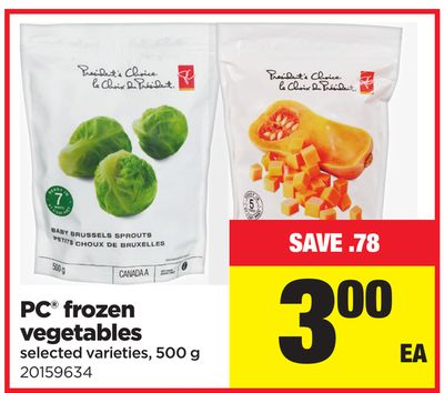 PC Frozen Vegetables - 500 g