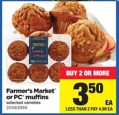 Farmer's Market Or PC Muffins
