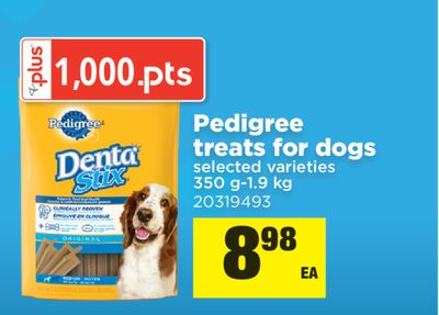 Pedigree Treats For Dogs - 350 G-1.9 Kg