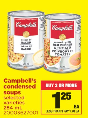 Campbell's Condensed Soups - 284 mL
