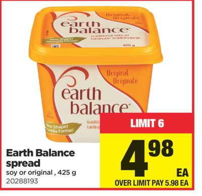 Earth Balance Spread.425 g