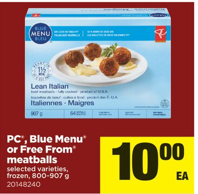 PC - Blue Menu Or Free From Meatballs.800-907 g