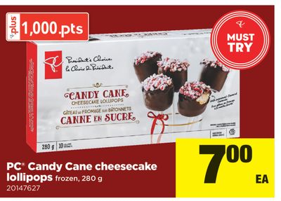 PC Candy Cane Cheesecake Lollipops - 280 g