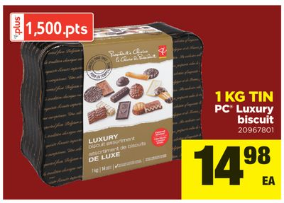PC Luxury Biscuit - 1 Kg Tin