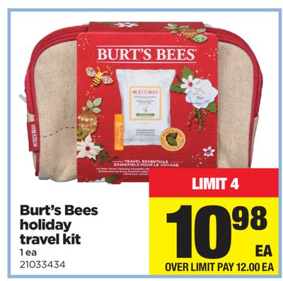 Burt's Bees Holiday Travel Kit - 1 Ea